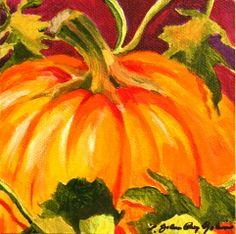 """October First"" - Original Fine Art for Sale - © JoAnne Perez Robinson"