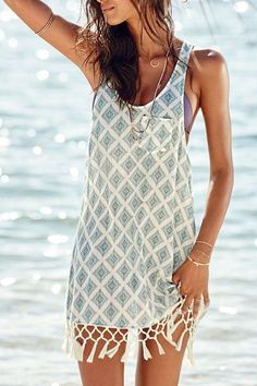 beachy dress