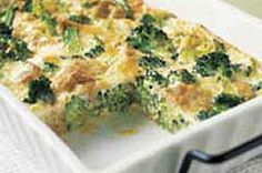 Crustless Broccoli Quiche recipe