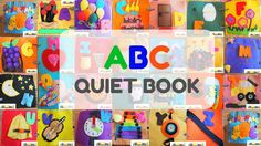 Q for QUIET book (#3 not-so-quiet book; ABC book)