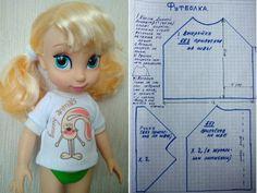 Ropa para muñecas Disney Animadores 40 cm y otros