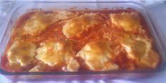 Bacalao al horno con allioli Fish Recipes, Seafood Recipes, Portuguese Recipes, Portuguese Food, Tasty, Yummy Food, Fish Dishes, Lasagna, Macaroni And Cheese