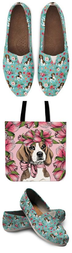 Do you love Beagles? Check out our amazing #beagle Shoes, Bags, Socks and more!