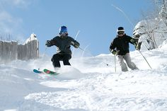Hunter Mountain was the first ski area in the world to implement snowmaking on its slopes