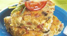 Torta de Legumes com Aveia ~ Cozinha e Tals