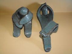 seltene Designer Figuren Keramik signiert Lu Pottery Ruhende Personen | eBay