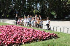 CAMPAMENTO DE VERANO: UN MUSEO LLENO DE VIAJES, Junio 2014 Lunes 23, Salida a Plaza de España para descubrir el entorno del museo