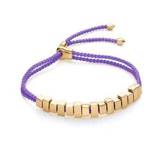 Lavender for prosperity. Inspired by shape of bullions, theLinear Ingot bracelet was designed to make a statement. Hand set in18ct Gold Vermeil on Sterling Silver, this unique Linear IgnotFriendship bracelet measures 8mm in width and 216mm in length. EachIngot can be moved around the handwoven cord to create multiplelooks with just one piece. Adjust the bracelet with a slidingtoggle. World Gold Day American Eagle Gold Coin, Gold News, Silver Bullion, Bullion Coins, Silver Coins, Sell Silver, Ring Necklace, Jewelry Supplies, Precious Metals