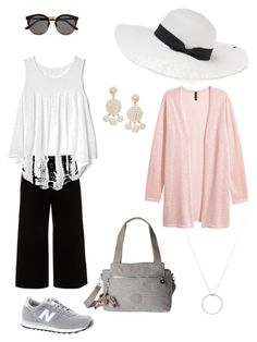 """Summer 2017 #2"" by maureen-meslin on Polyvore featuring mode, Lafayette 148 New York, New Balance, Kipling, Gap, Illesteva, Peter Grimm, Humble Chic et Roberto Coin"