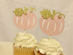 Excited to share this item from my #etsy shop: Pumpkin Cupcake Topper, Pink and Gold First Birthday, Pumpkin Birthday Decorations ,Our Little Pumpkin is Turning One Gold First Birthday, 1st Birthday Banners, Little Girl Birthday, Birthday Gifts For Her, Pumpkin 1st Birthdays, Pumpkin Birthday Parties, First Birthdays, Baby In Pumpkin, Little Pumpkin