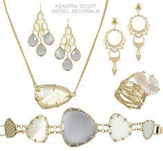 Neutral, Silver & White Jewelry from Kendra Scott @LaylaGrayce