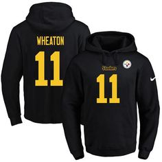 Nike Steelers  11 Markus Wheaton Black(Gold No.) Name  amp  Number b90e19cfd