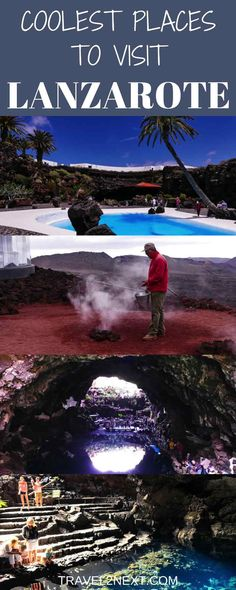 Coolest places to visit in Lanzarote,  Canary Islands. This lovely spot is part of Spain.