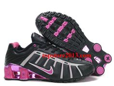 quality design 0ca29 9072a Top Quality Nike Shox NZ 3rd III Third Women Black Pink Running Shoes Nike  Women,