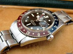 http://www.jamesedition.com/watches/rolex/gmt_master/gmt-master-vintage-bakelite-pepsi-for-sale-744552