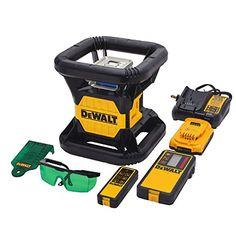 DEWALT DW079LG 20V MAX Green Rotary Tough Laser DEWALT