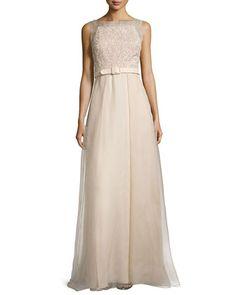 a16655b8436 Sleeveless+Beaded+Organza+Ball+Gown+W +Belt++