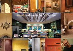 American Clay - Naturally Beautiful Walls.. brochure by PaintFX Thailand 02.743.1250