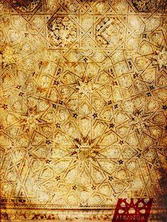 Armadura de lazo en el Monasterio de San Antonio el Real (Segovia). © Albanécar, 2014