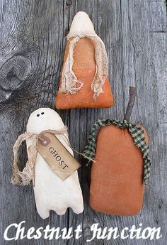 Halloweenies EPATTERN primitive country por ChestnutJunction