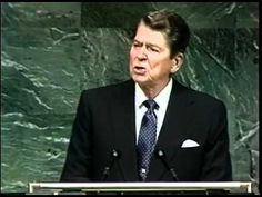▶ President Ronald Reagan mentions Alien Threat at Fallston_ UN & National Strategy Forum - YouTube ... ... After much research, I believe that aliens have been working with world government. I also know that government is going to cause a huge Hologram in the sky of many alien UFOs to scare people into doing what Henry Kissinger said. Read his quote. Reagan on his script put a serpent, was he trying to tell us that aliens are evil demons from Satan?