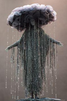 rain cloud costume. Wow.