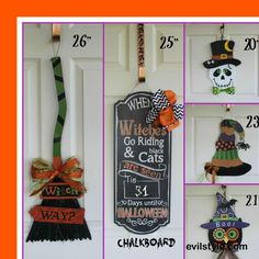 READY to SHIP for FREE!  Halloween - Door Signs Halloween Decor Party Decorsign - Etsy Wreath - Halloween Wreaths for door - Halloween Decor - http://evilstyle.com/ready-to-ship-for-free-halloween-door-signs-halloween-decor-party-decorsign-etsy-wreath-halloween-wreaths-for-door-halloween-decor