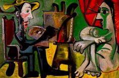 Pablo Picasso The Painter And His Model 2, 1963