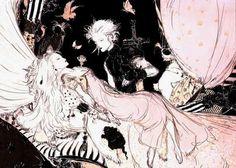 yoshitaka amano - final fantasy VII