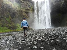 Iceland has more waterfalls than you can shake a stick at. (Trust me I tried and my wrist got really tired). | Skógafoss South Iceland by jacobcjwolf