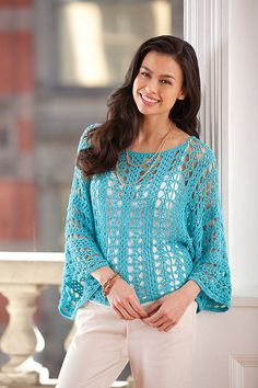 Blusa por encargo del ganchillo CROCHET moda por LecrochetArt, $160.00