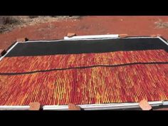 Aboriginal Artist Ronnie Tjampitjinpa - 1522 - YouTube
