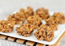 Gezonde snack | chocolade haver koekjes zonder suiker