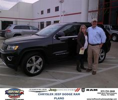 #HappyAnniversary to Kim Miers on your 2014 #Jeep #Grand Cherokee from Billy Zang at Huffines Chrysler Jeep Dodge RAM Plano!