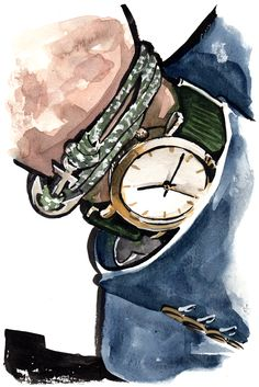 click through to see the Week of Thread Etiquette Daily Fashion, Fashion Art, Man Illustration, Watercolor Fashion, Sketch Painting, Fashion Project, Fashion Sketches, Vintage Men, Illustrators