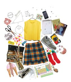"""extra curricular"" by abundanceoffreckles ❤ liked on Polyvore featuring art"