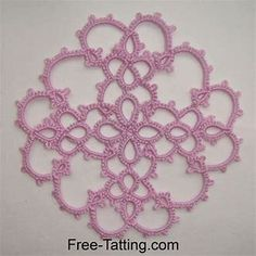 Image result for Free&Easy Tatting Pattern