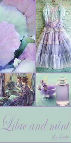 Hi Ladies.  Thank you for all the wonderful and vibrant yellow and black pins today.  Great pinning. Tonight and tomorrow I'd lke to pin this soft color board combination of LILAC AND MINT. Thank you and Happy Pinning. ❤