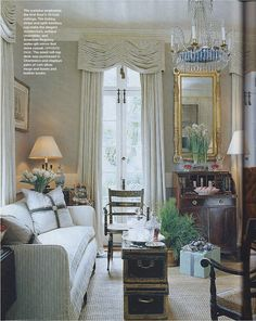 Jackey Lanham's Charleston home, Southern Accents December 2006