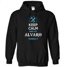 ALVARO-the-awesome - #shirt refashion #monogrammed sweatshirt. SIMILAR ITEMS => https://www.sunfrog.com/Holidays/ALVARO-the-awesome-Black-59171585-Hoodie.html?68278