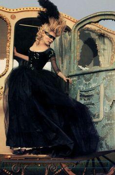 porque um pouco de glamour não faz mal a ninguém...