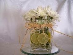 centerpiece- not too big, not too small!