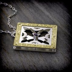 Medieval Collection  Pierced Riveted Sterling by EraArtJewelry