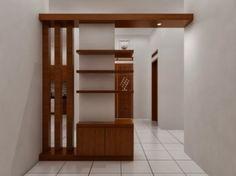 Hasil gambar untuk gambar sekat ruang tamu dari kayu
