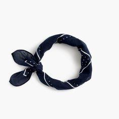 Polka-dot bandana