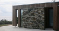 JOMFRULAND- Oppdal stone dry wall and kebony
