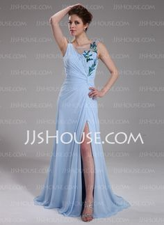 Evening Dresses - $142.29 - Sheath Square Necklin Floor-Length Chiffon Tulle Evening Dresses With Beading (017019562) http://jjshouse.com/Sheath-Square-Necklin-Floor-Length-Chiffon-Tulle-Evening-Dresses-With-Beading-017019562-g19562