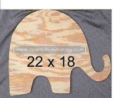 Superior Unfinished Wooden Elephant Unfinished Wooden Sign By Sparkled Whimsy  Woodworking Sign Unfinished Wood Unfinished Door Hang DIY DIY Door Hanger  Unfinished ...