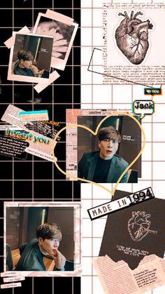 Got7 Jackson, Jackson Wang, Diy Wallpaper, Jinyoung, Polaroid, Wattpad, Wallpapers, Kpop, Space