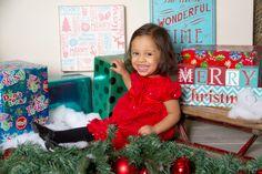 """Christmas Smiles"" Portrait Creations Children's Studio in Charlotte, NC."